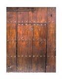 Винтажная деревянная дверь Стоковые Фото