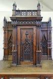Винтажная деревянная мебель Стоковое Фото