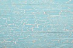 Винтажная деревянная предпосылка с треснутой краской Стоковые Фото