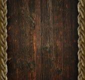 Винтажная деревянная предпосылка Стоковые Фото