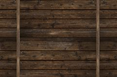 Винтажная деревянная стена Стоковая Фотография