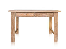 Винтажная деревянная таблица Стоковая Фотография RF