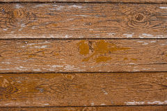 Винтажная деревянная текстура предпосылки с узлами Стоковая Фотография RF