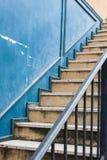 Винтажная лестница Стоковая Фотография