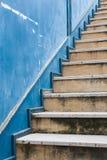 Винтажная лестница Стоковое Изображение RF