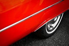 Винтажная деталь автомобиля стоковое фото
