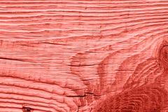 Винтажная живущая текстура древесины коралла абстрактная предпосылка стоковая фотография rf