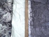 Винтажная запятнанная бумага Стоковые Изображения RF