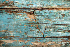Винтажная затрапезная деревянная предпосылка загородки Стоковые Изображения