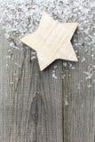 Винтажная звезда рождества Стоковые Фотографии RF