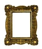 Винтажная золотая рамка стоковое фото