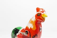 Винтажная игрушка курицы Стоковая Фотография