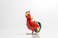 Винтажная игрушка курицы Стоковые Фото
