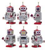 Винтажная игрушка робота олова Стоковое фото RF