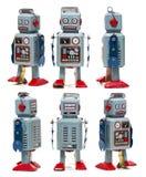 Винтажная игрушка робота олова Стоковые Изображения RF