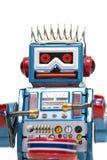 Винтажная игрушка робота олова Стоковые Фото