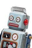 Винтажная игрушка робота олова Стоковое Фото