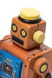 Винтажная игрушка робота олова Стоковое Изображение RF