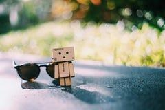 Винтажная игрушка с садом Стоковое Изображение RF
