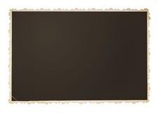 Винтажная изолированная рамка фото Стоковая Фотография