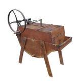 Винтажная изолированная стиральная машина Стоковая Фотография RF