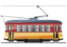 Электрический трамвай бесплатная иллюстрация