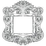 Винтажная имперская барочная рамка рококо Стоковые Изображения