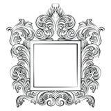 Винтажная имперская барочная рамка рококо Стоковая Фотография RF