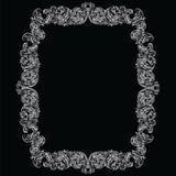 Винтажная имперская барочная рамка рококо Стоковые Фотографии RF