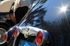 Винтажная итальянская деталь зада гоночной машины Стоковые Фото