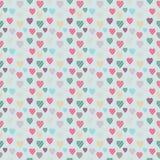 Винтажная иллюстрация сердца Стоковые Изображения RF