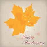 Винтажная и grungy предпосылка листьев осени Стоковые Изображения RF