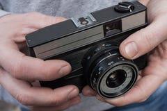 Винтажная камера в наличии Стоковые Фотографии RF