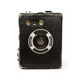 Винтажная камера коробки стоковые изображения rf