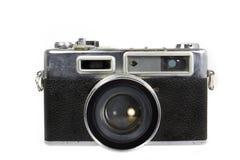 Винтажная камера на изолированной белой предпосылке Стоковые Изображения