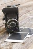 Винтажная камера фото Стоковое Фото