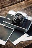 Винтажная камера фото Стоковые Фотографии RF