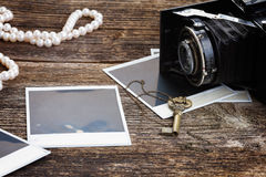 Винтажная камера фото Стоковое фото RF