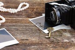 Винтажная камера фото Стоковые Изображения