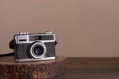 Винтажная камера стоковая фотография rf