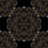 Винтажная картина вектора Декоративное ретро знамя Стоковые Фото