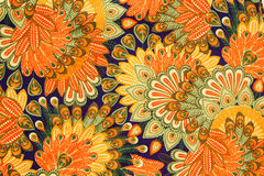 Винтажная картина ткани стоковое фото
