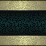 Винтажная карточка Стоковые Фотографии RF