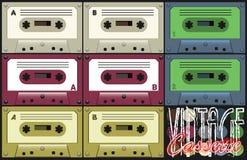 Винтажная кассета Стоковое Фото