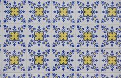 Винтажная керамическая плитка Стоковое фото RF