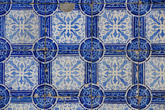 Винтажная керамическая плитка Стоковые Изображения