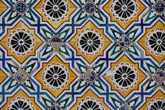 Винтажная керамическая плитка Стоковые Изображения RF