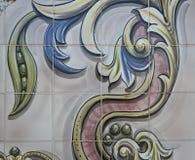 Винтажная керамическая плитка Стоковые Фотографии RF