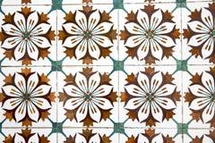 Винтажная керамическая плитка Стоковая Фотография RF