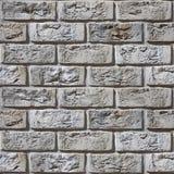 Винтажная кирпичная стена - деревенское возникновение - безшовная предпосылка Стоковая Фотография RF